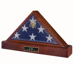 Flag-Only Display Cases