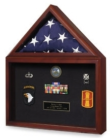 Display Cases for Flags & Medals