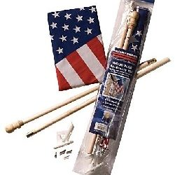 Flag and Pole Complete Sets for Home