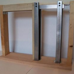 Image of pocket door parts